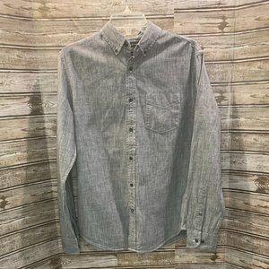 BANANA REPUBLIC Grant Slim Fit Button Front Shirt